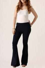 She + Sky Bell Bottom Pants - Product Mini Image