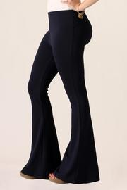 She + Sky Bell Bottom Pants - Side cropped