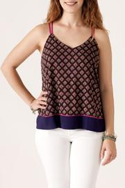 She + Sky Bohemian Print Cami - Front cropped