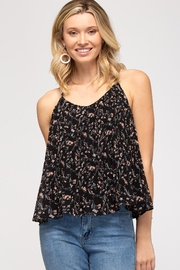 She and Sky Favorite Floral Cami - Product Mini Image
