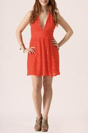 She + Sky Lace Halter Dress - Product Mini Image