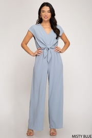 She and Sky Misty Jumpsuit - Back cropped