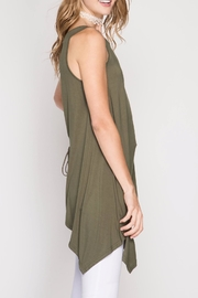 She + Sky Olive Tunic Top - Other