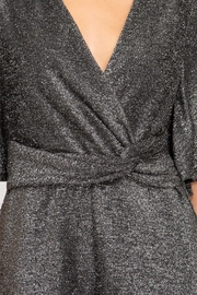 She and Sky Sparkly Romper - Front full body