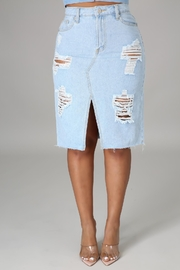 SHE Boutique Brunch Time Skirt - Product Mini Image