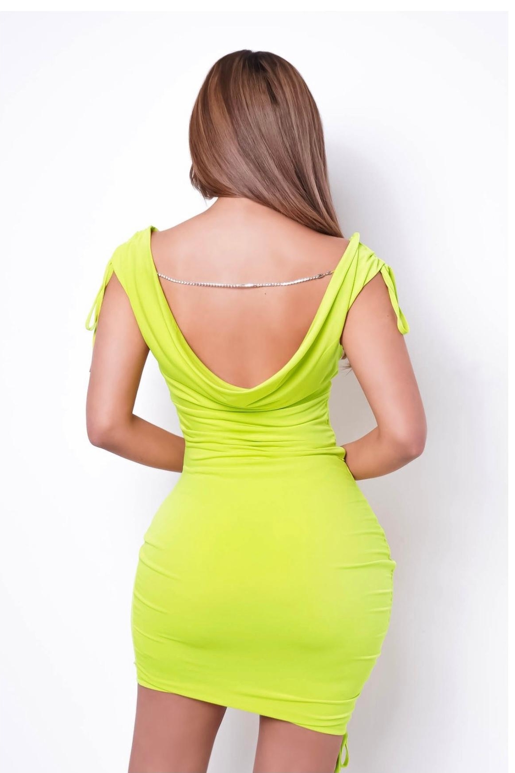 SHE Boutique Get Back To Me Mini Dress - Front Full Image