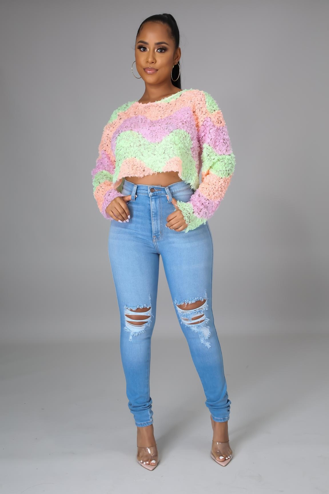 SHE Boutique Just Go With It Top - Front Full Image