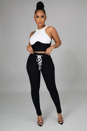 SHE Boutique My Go To Legging Set - Front cropped