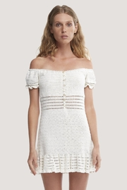 She Made Me Inika Crochet Dress - Front cropped