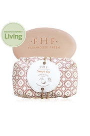 Farmhouse Fresh Shea Butter Soap Wrapped - Front cropped
