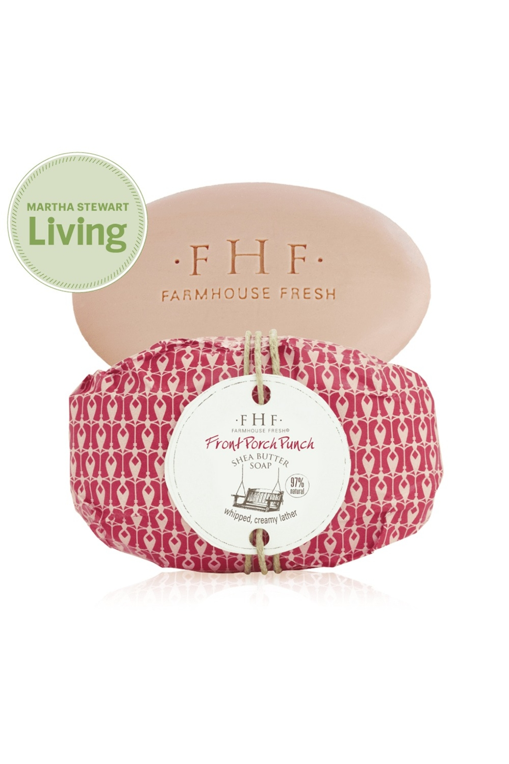 Farmhouse Fresh Shea Butter Soap Wrapped - Front Cropped Image