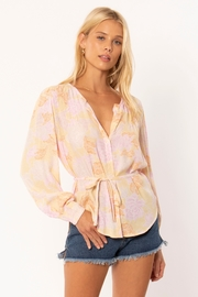 AMUSE SOCIETY Sheana Floral Blouse - Product Mini Image