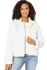 NapaLook SHEARLING LOVE COAT - Front cropped