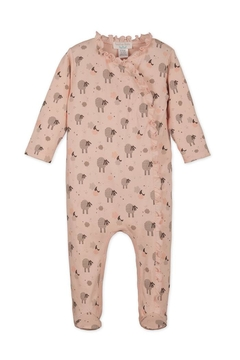 Feather Baby Sheep Kimono Footie - Product List Image