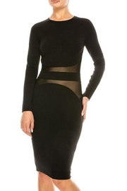 privy inc Sheer Black Dress - Product Mini Image