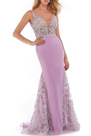 Morrell Maxie Sheer Bodice Gown - Product Mini Image