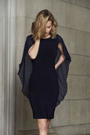 Picadilly Sheer Cape Dress - Product Mini Image