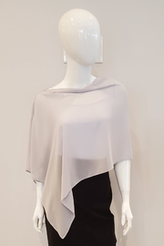 Joseph Ribkoff  Sheer Cover-Up in Grey or Midnight Blue - Product Mini Image