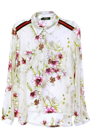 Maryley Sheer Floral Blouse - Product Mini Image