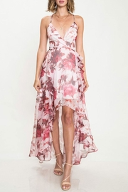 L'atiste Sheer Floral Dress - Product Mini Image