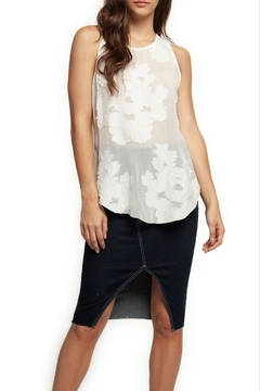 Dex Sheer Floral Tank - Product List Image