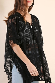 Umgee USA Sheer Lace Tunic - Product Mini Image