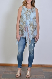 SCANDAL Sheer Layered Tunic - Product Mini Image