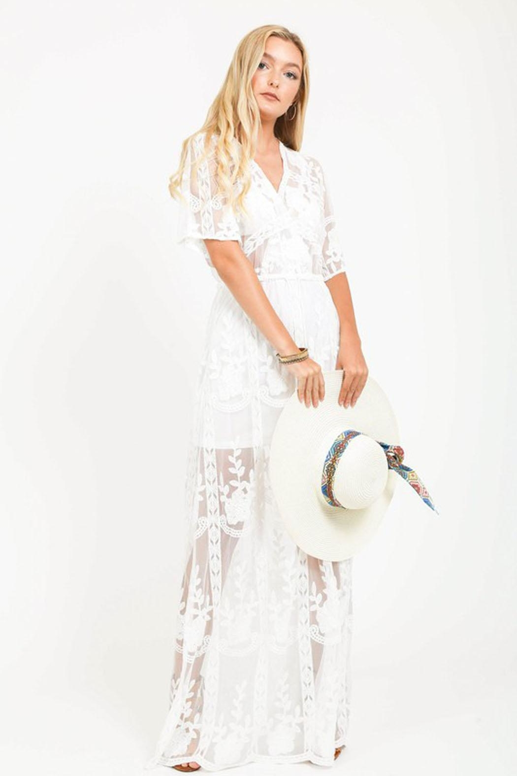 Bio Sheer Maxi Dress from Brooklyn by BB Collective — Shoptiques