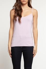Dex Sheer Neckline Cami - Product Mini Image