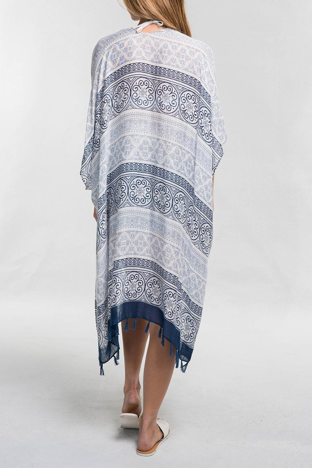 Lovestitch Sheer Paisely Kimono - Front Full Image