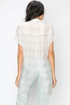 Favlux Sheer Plaid Shirt - Alternate List Image