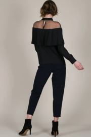 Molly Bracken Sheer shoulder top - Front full body