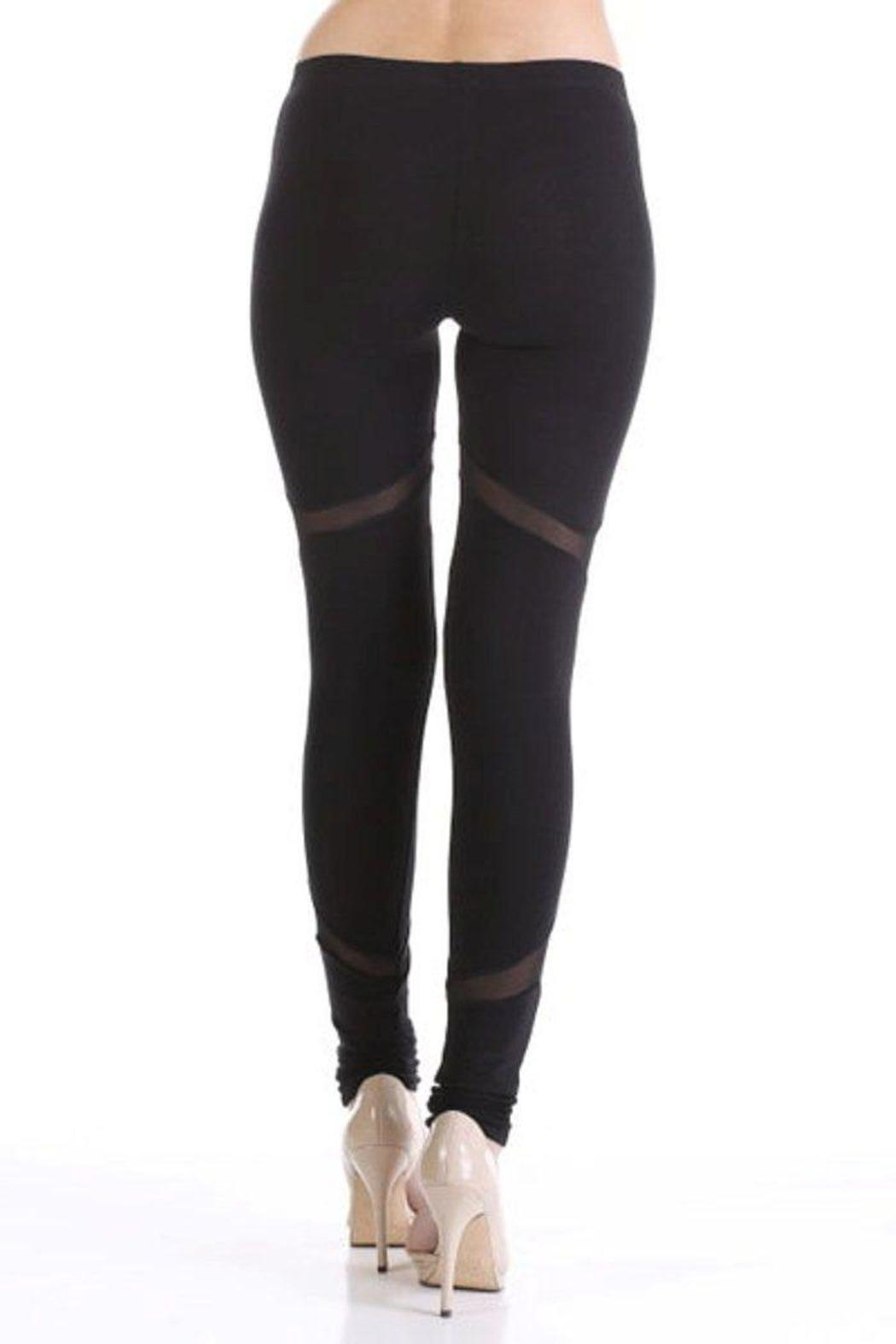 Sheer-Side Seam Legging from Laredo by Dollz Boutique — Shoptiques