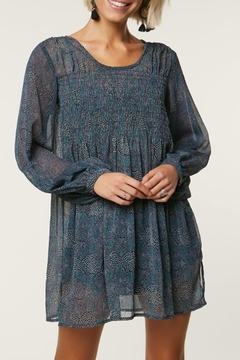 O'Neill Sheer-Smocked Poet's Dress - Product List Image