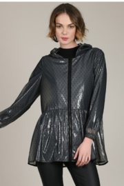 Molly Bracken Sheer Swiss Dot Raincoat - Product Mini Image