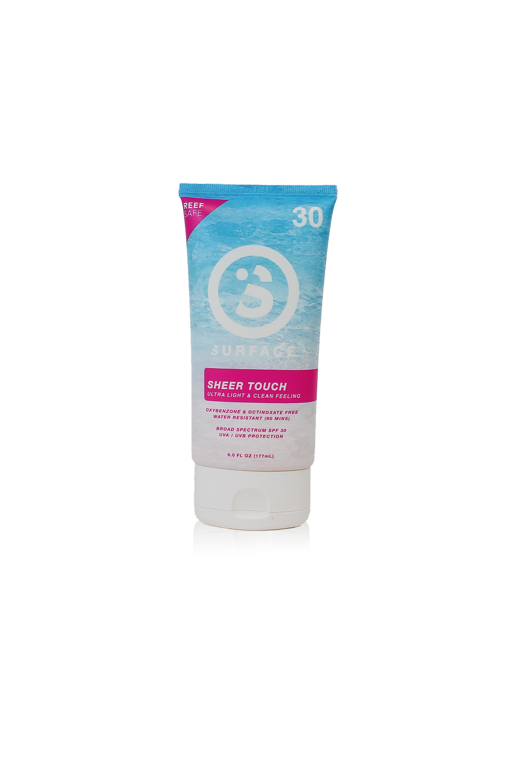Surface Products Corp Sheer Touch Sunscreen SPF30 - Front Cropped Image