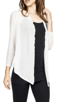 Adore Sheer White Cardigan - Product List Image