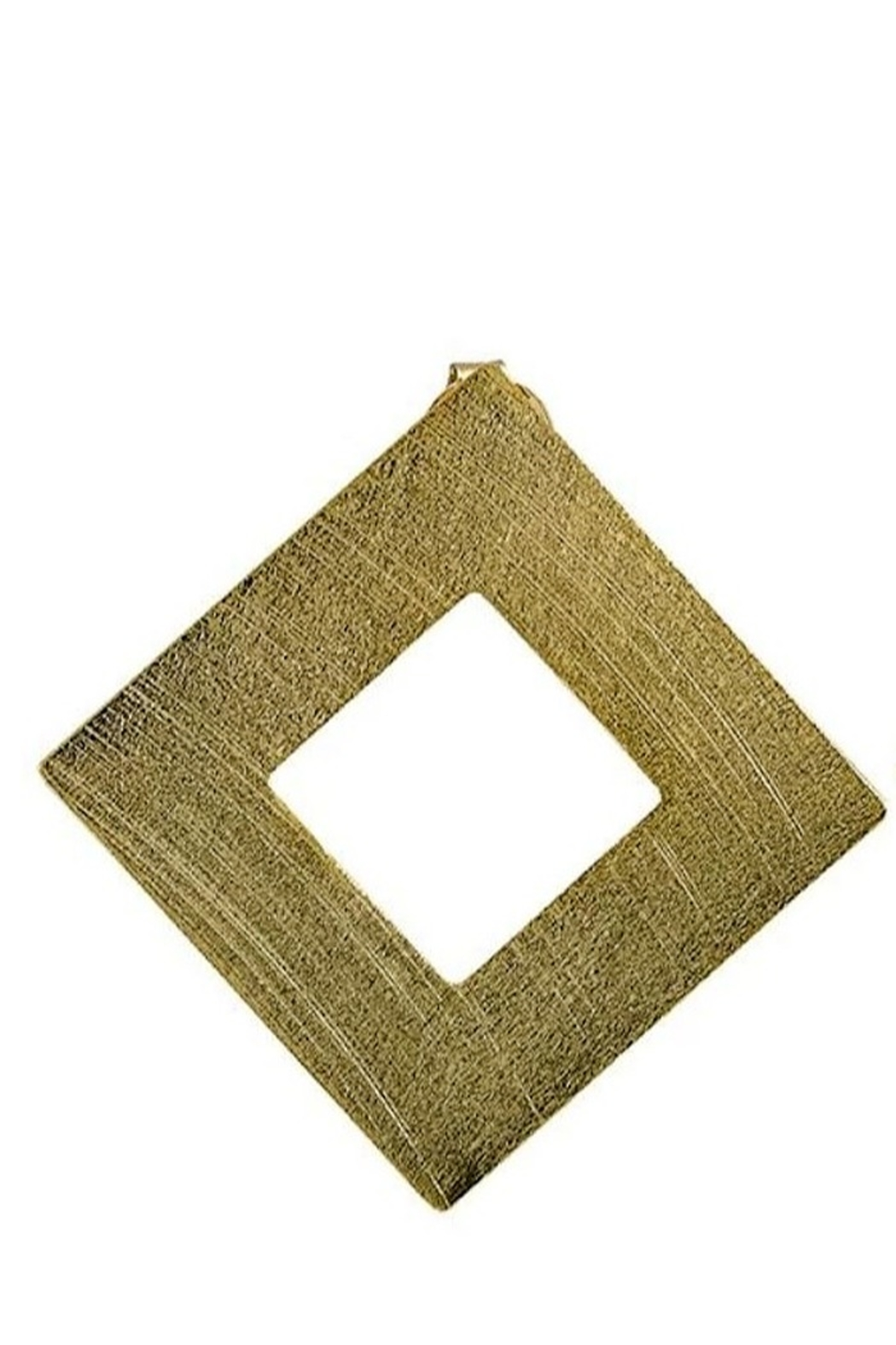 Sheila Fajl Seline Square Earrings - Front Cropped Image