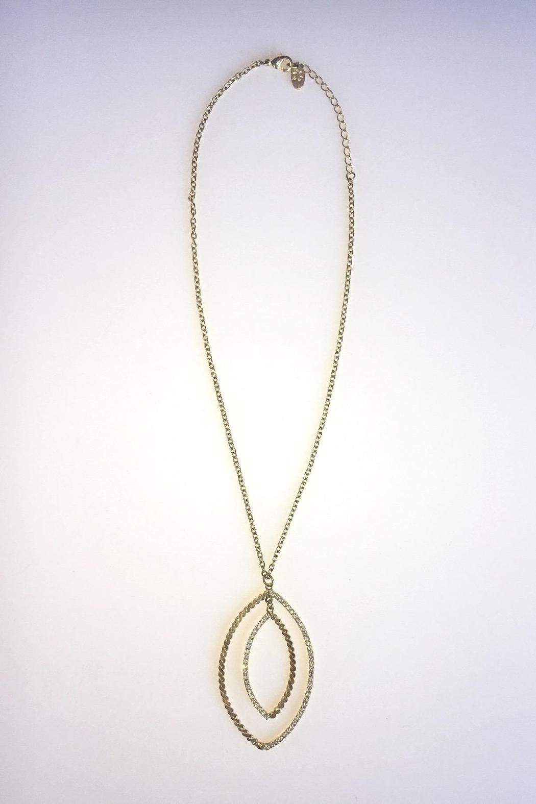Sheila Fajl Goldplated Cubic Zirconia Necklace - Front Full Image
