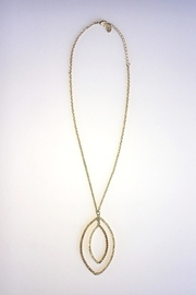 Sheila Fajl Goldplated Cubic Zirconia Necklace - Front full body