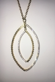 Sheila Fajl Goldplated Cubic Zirconia Necklace - Product Mini Image