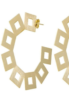 Sheila Fajl Vica Square Hoops - Product List Image