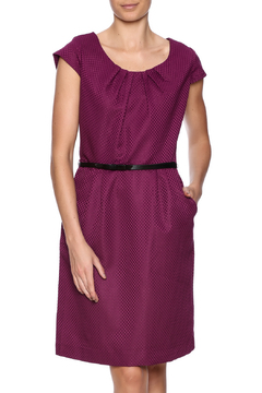 Shoptiques Product: Purple Belted Dress