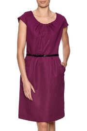 Shelby & Palmer Purple Belted Dress - Product Mini Image