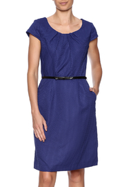 Shelby & Palmer Short Sleeve Belted Dress - Product Mini Image