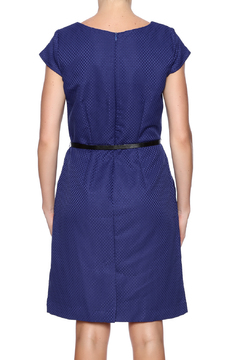 Shoptiques Product: Short Sleeve Belted Dress