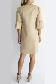 Jude Connally Shelby Faux Suede Dress - Front full body