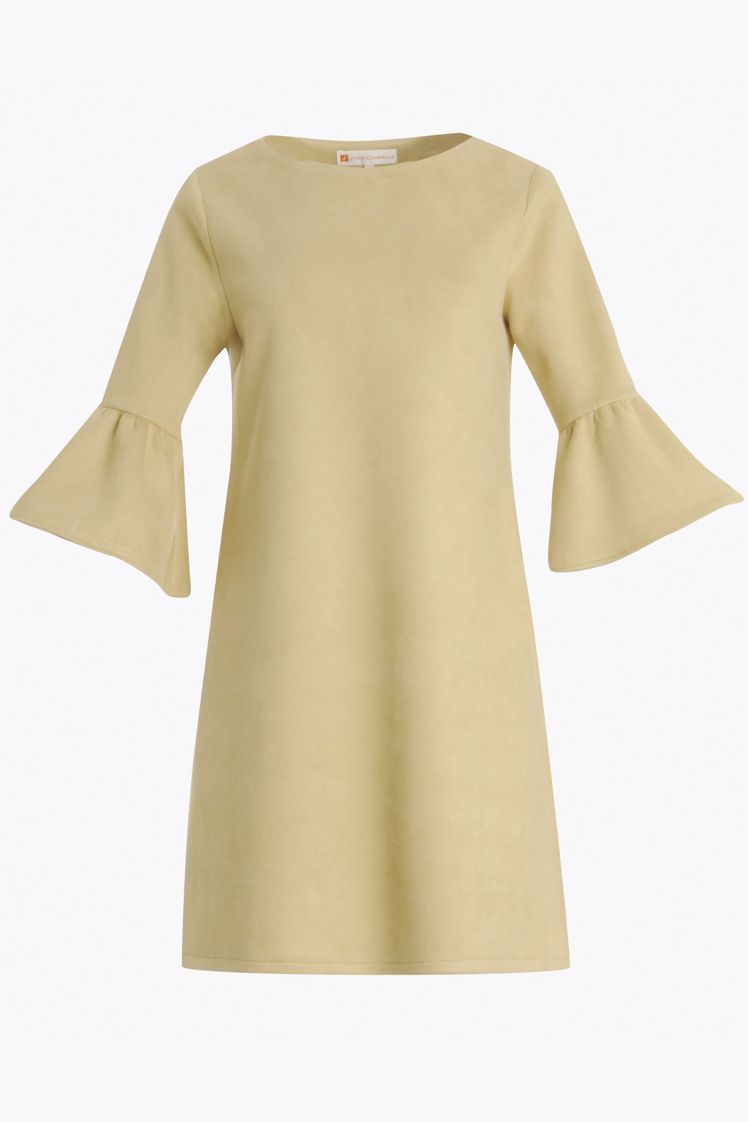 Jude Connally Shelby Faux Suede Dress - Side Cropped Image