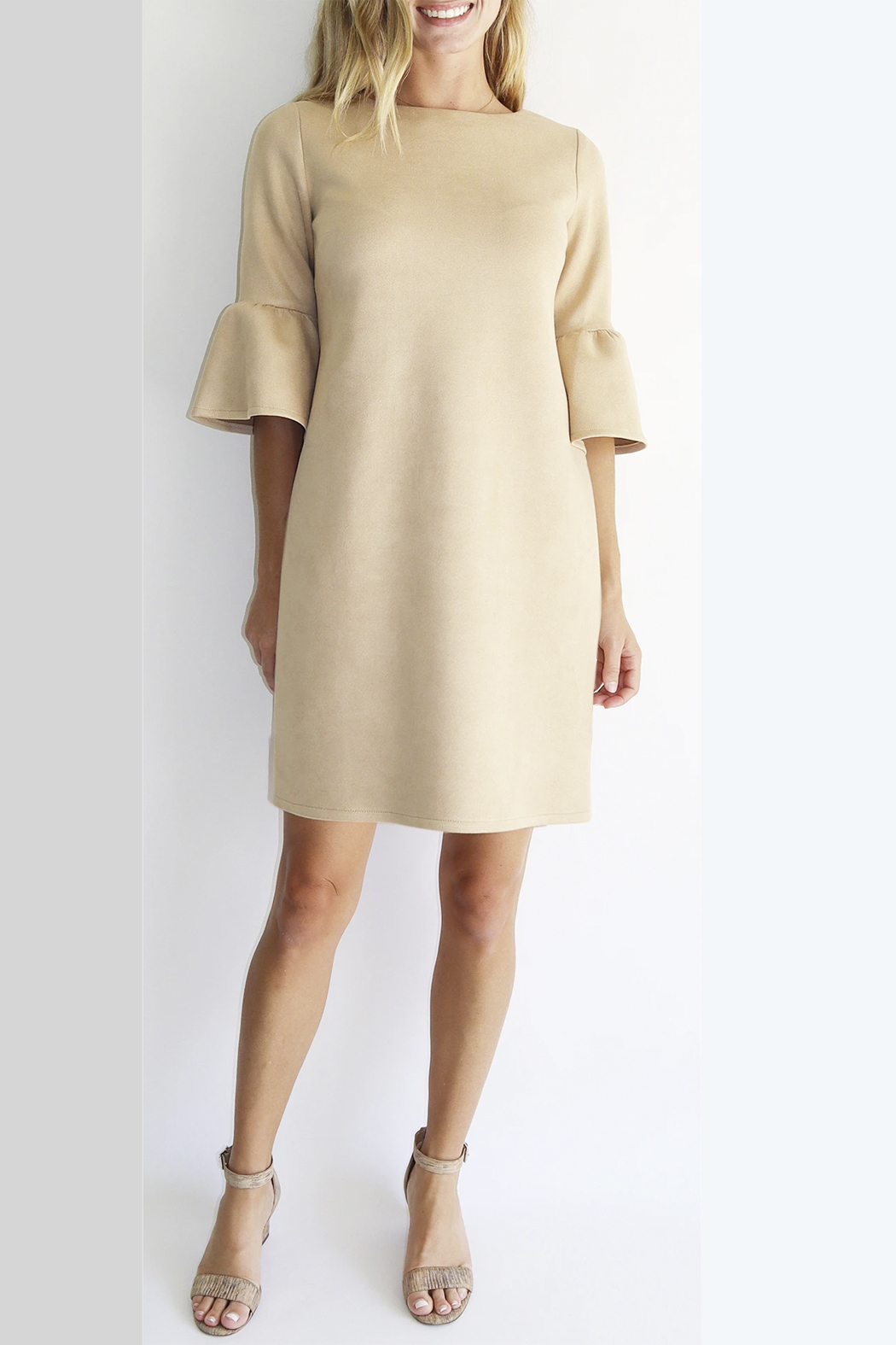 Jude Connally Shelby Faux Suede Dress - Main Image
