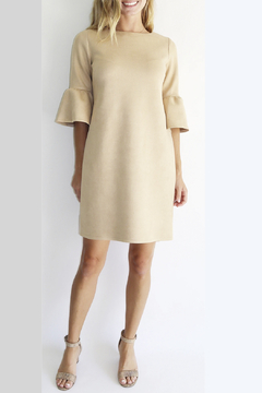 Jude Connally Shelby Faux Suede Dress - Product List Image